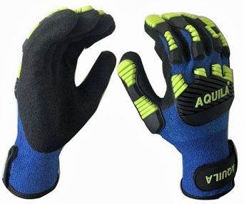 Impact protection gloves from Aquila Gloves