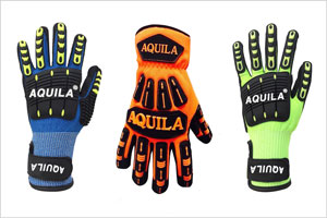 Aquila TPE impact protective gloves for the Mining Industry