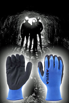 NFU glove for mining industry from Aquila