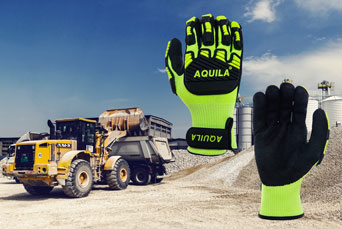 TOG5V gloves from Aquila for anti-vibration and general hazard protection