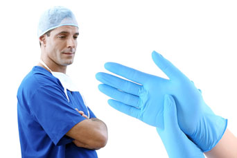 Aquila introduce their new N935 high quality, powder free, medical gloves in 100% Nitrile