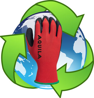 Aquila Gloves introduce ecologically preferred packaging throughout